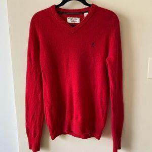 Original Penguin 100% Lambswool V-Neck Sweater
